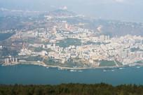 美丽的巫山县城