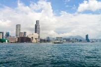 香港尖沙咀滨海建筑