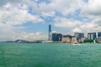 香港九龙滨海风光
