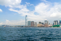 香港九龙城市景色