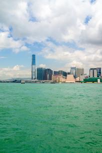 香港摩天大楼景色风光
