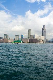 香港维多利亚港建筑