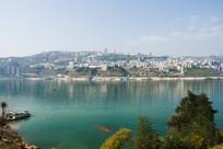 远眺巫山县城