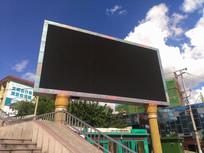 LED户外广告大屏