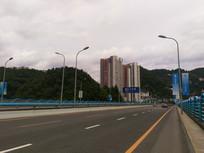 贵阳黔灵山的公路
