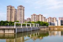 惠州新开河的水坝