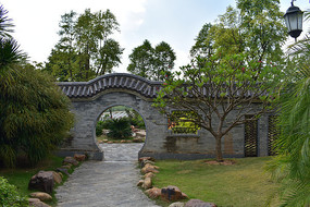 五象湖公园园林拱门