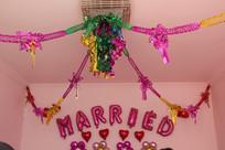 婚礼装饰花