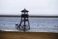 海滩瞭望台