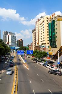 惠州鹅岭立交桥路口