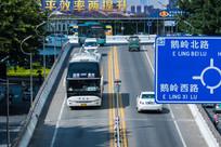 惠州鹅岭立交桥头