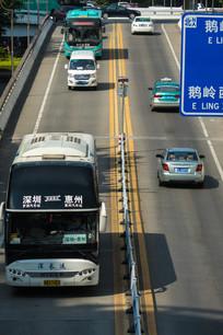 惠州立交桥的交通