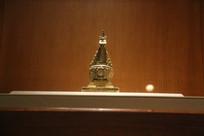 藏传佛教鎏金舍利塔