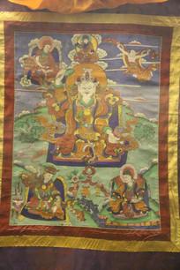 藏传佛教唐卡画