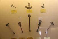 藏传佛教铜制小法器