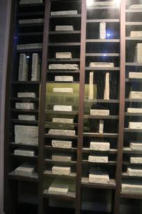 汉代石刻各种建筑构件