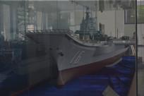 辽宁号航母模型