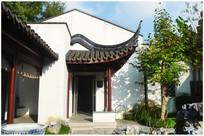 苏州园林景观屋檐