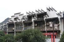 桂林阳朔西街徽派建筑侧面