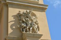 澳门新濠影汇酒店的雕塑