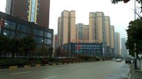清镇城北新区高楼群