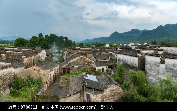 黟县南屏村落图片