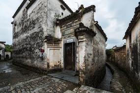 南屏民居建筑的大门