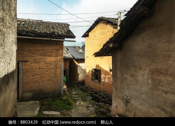 皖南高山村落图片