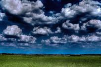 草原的天空