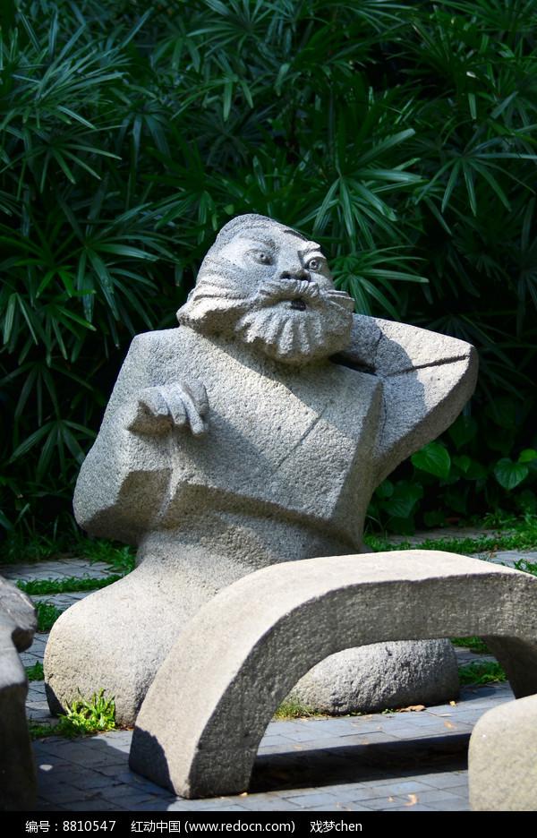 古代人物雕塑图片