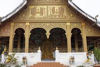 老挝建筑雕刻艺术
