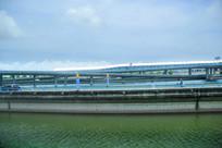 浦东机场外景