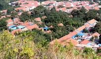 山东鲁中农村建筑群