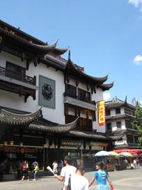 城隍庙外的小吃街