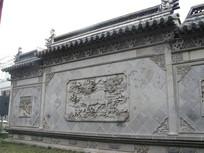 城隍庙外的照壁