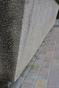 石纹墙壁侧拍