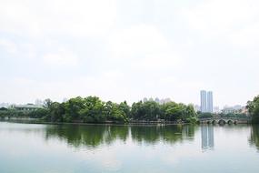 广州东湖公园五拱桥