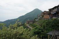 台湾九份山城风光