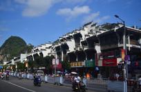 古城街边建筑图片