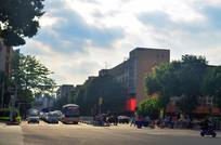 城市街道公路风景