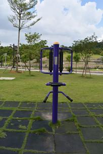 户外健身器材立式腰背按摩器
