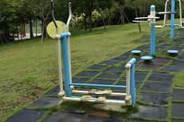 户外健身器材双联平步机