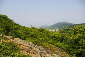 九龙山渔村