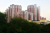美丽的城市高楼大厦风景