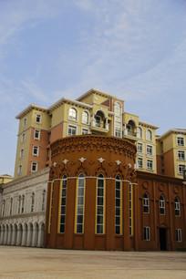 欧式商业建筑
