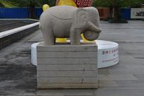 小石象雕刻
