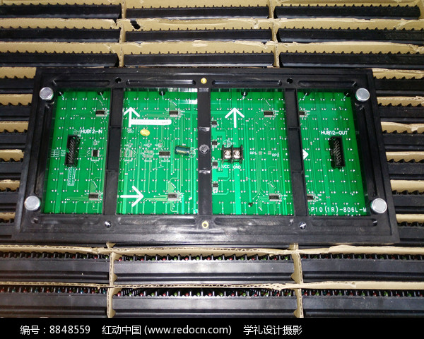 LED显示屏背板图片