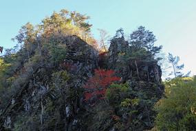 彩色的山峰