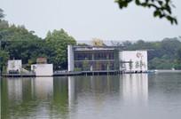 湖泊风光园林建筑