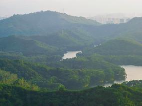 惠州高榜山与红花湖